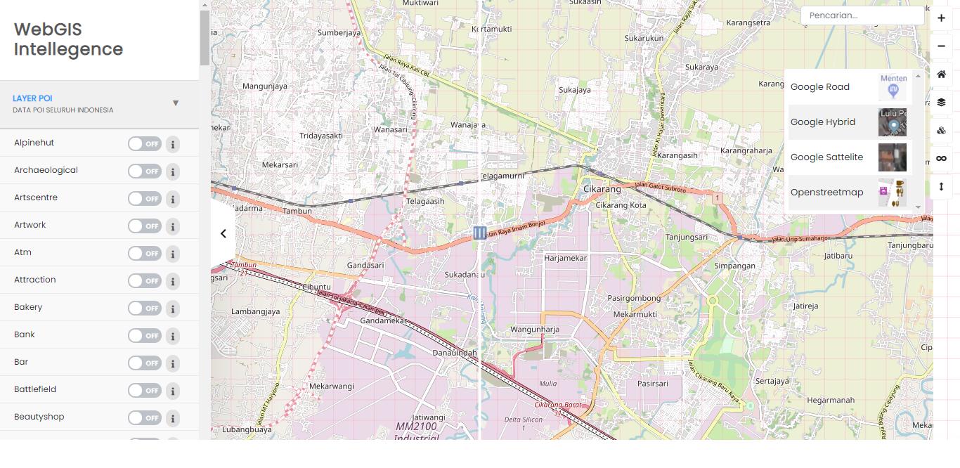 /WebGIS Intellegence Location